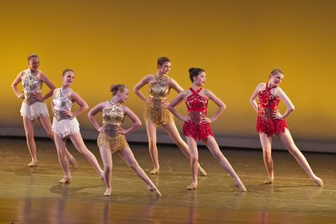 Teen Jazz Dancers